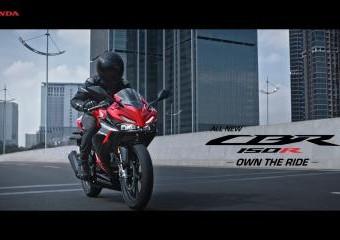 All New Honda CBR150R – Own The Ride