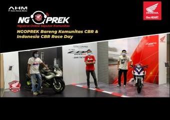 NGOPREK Bareng Komunitas CBR dan Indonesia CBR Race Day