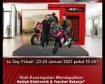 Banjir voucher elektronik di Virtual Honda Premium Matic Day