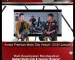 Bincang Santai Komunitas di Honda Premium Matic Day Virtual
