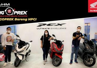 #NGOPREK? All New Honda #PCX160? bareng HPCI (Honda PCX Club Indonesia)