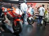 Jajaran Big Bike Honda di IMOS 2016