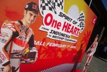 Launching Repsol Honda MotoGP Team
