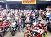 Sunmori All Riders CBR Jakarta, Minggu (4/3)