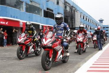 Track Day Honda CBR Community Sentul