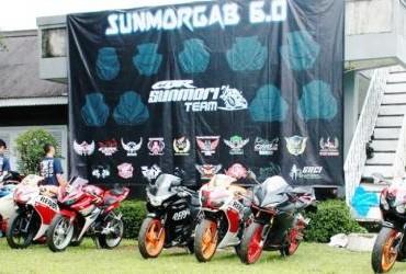 Hangatnya Persaudaraan Riders CBR Dalam Sunmorgab 6.0 CBR se-Bogor Raya