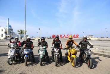 Honda Bikers Day 2016 Regional Sulawesi Part 1