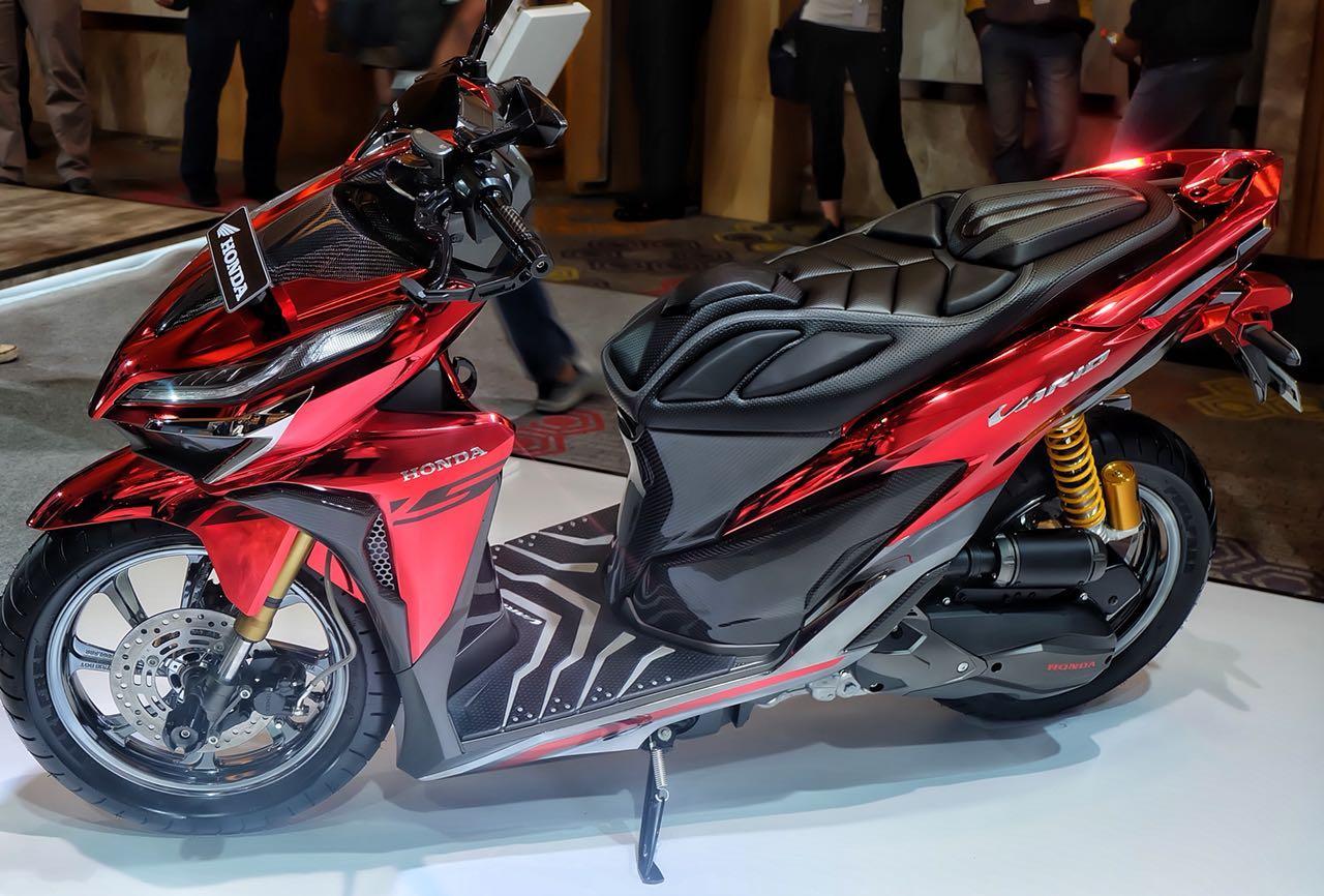 Beberapa Modifikasi Honda Vario 150 Terbaru Lengkap Dengan