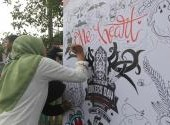 HBD 2018 Regional Kalimantan - Doodle Art dan Kompetisi Flatland