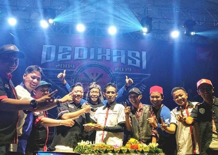 Sepuluh Tahun Kebersamaan Pecinta Honda Jakarta