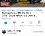 Kemah Dapat Ilmu, Ketua HRC Saipudin Unggah Video Kegiatan Bikers Camp .