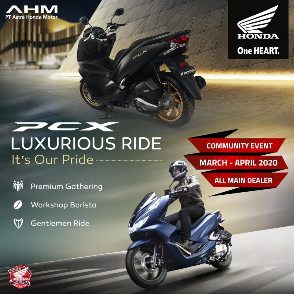 PCX Luxuriuous Ride