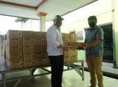 PT Astra Honda Motor (AHM) Membagikan Paket Sembako Ramadhan Sehat ke Masyarakat
