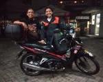 Honda Revo Ini yang Dipakai Siti Farah Solo Riding ke Titik Nol Kilometer Sabang