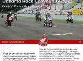Serunya Ngegaspol di Jakarta Race Community 2021 Bareng Komunitas Honda Race