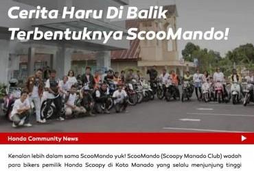 Cerita Haru di Balik Terbentuknya ScooMando!