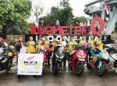 Gabungan Klub Anggota AHC Riding To Kilometer 0 Indonesia, 24 – 31 Desember 2017