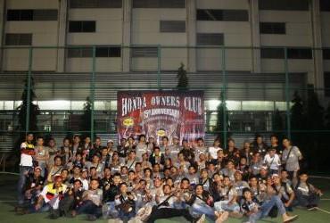 Anniversary Ke-15 Honda Owners Club
