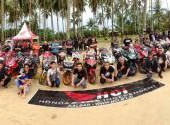 HCI Kalbar Tourgab Wisata Bahari ke Pantai Kijing, Sungai Kunyit